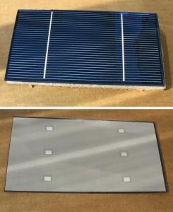 Вот как выглядят элементы солнечной батареи