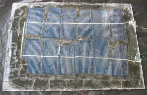 Первая самодельная солнечная батарея