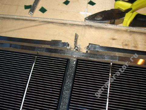 Соединительные шины и вывод проводников наружу