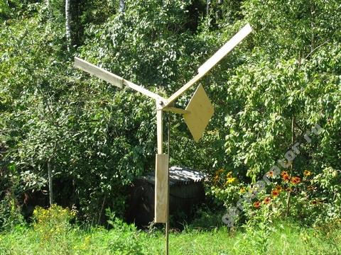 Пропеллер, собранный из старого ротора Дарье